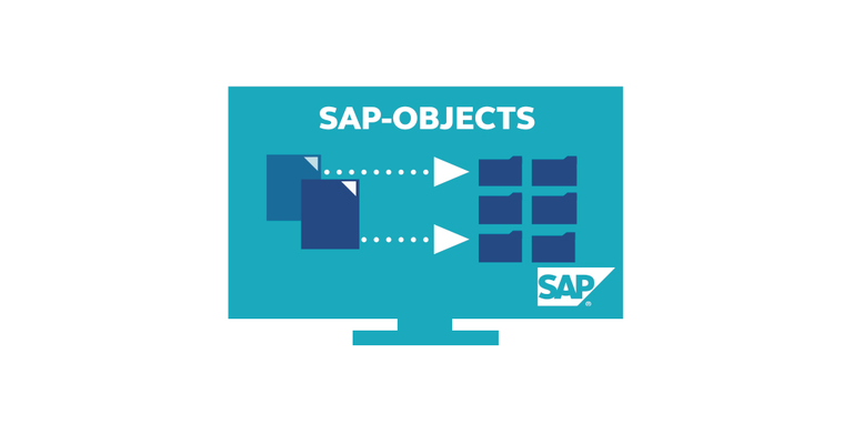 Automatic assignment of documents to the right SAP-object